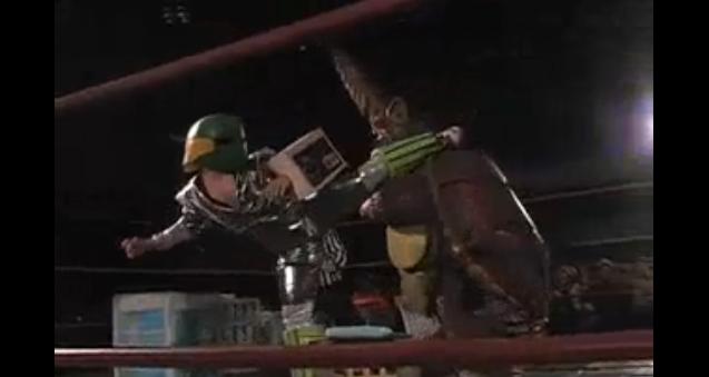 kaiju wrestling