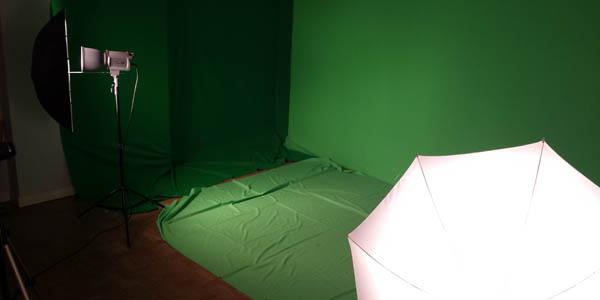 greenscreen room primative styleee
